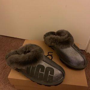 NIB UGG Coquette Sparkle Slippers